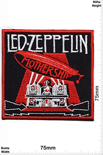 Parches   Patch  Led Zeppelin   Mothership   Música