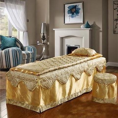 Belleza bedspreadbeauty Juego de cuatro de cama ropa de cama colcha/SPA belleza/masaje/Fisioterapia colcha