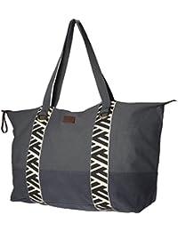 Barts - Bolso de tela de Lona para mujer gris gris