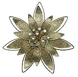 Das Design Zu Hause Goldenen Blume Wand Deko-Ornamente