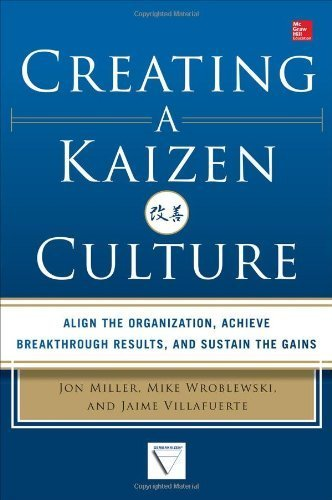 [(Creating a Kaizen Culture: Align the Organization, Achieve Breakthrough Results, and Sustain the Gains)] [ By (author) Jon Miller, By (author) Mike Wroblewski, By (author) Jaime Villafuerte ] [November, 2013]