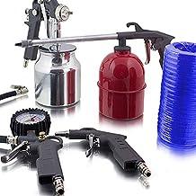 5 teiliges aire comprimido juego de accesorios para compresor neumático presión pistola de aire comprimido capa