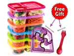 Bento Lunch Box Food Containers - Set...