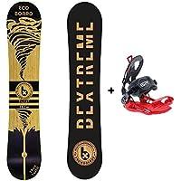 Bextreme Snowboard Twist Fijaciones SP (157cm)