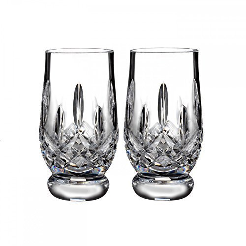 Waterford Lismore Footed Tasting Tumbler -Set of 2 by Waterford Waterford Tumbler Set
