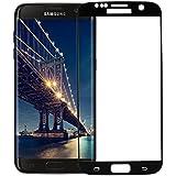 Samsung Galaxy S7 Schutzfolie [Vollständige Abdeckung], OMOYMS 2 Stück Panzerglas Displayschutzfolie für Samsung Galaxy S7, [Anti-Kratzer] [Anti-Fingerabdruck] [Blasenfrei][Klar HD Ultra] Displayschutzfolie Displayschutz Screen Protector Für Samsung Galaxy S7 Panzerglas (schwarz)