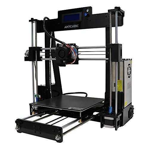 Anycubic 3D Printer Prusa i3 DIY 3D Printers Kit LCD Display With Ultrabase heatbed and Larger Printring Size 8,27''X9,84''X8,27'' ABS PLA Filament -