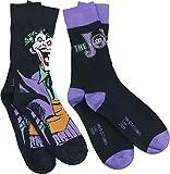 Batman Joker - Logo Chaussettes noir/lilas