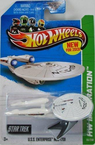 2013 Hot Wheels Hw Imagination - Star Trek - U.S.S. Enterprise NCC-1701 [Battle Damaged Version] by Mattel (Star Trek-battle Damaged)