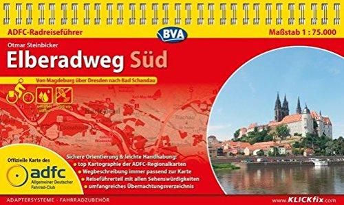 Preisvergleich Produktbild ADFC-Radreiseführer Elberadweg Süd 1:75.000 praktische Spiralbindung, reiß- und wetterfest, GPS-Tracks Download: Von Magdeburg über Dresden nach Bad Schandau