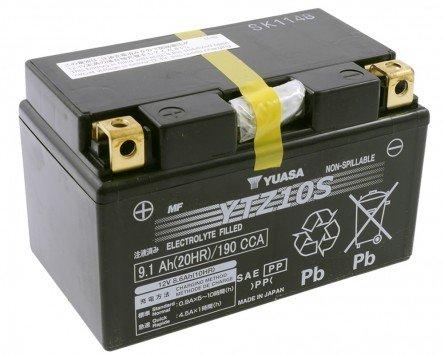 Batteria-YUASA-YTZ10S-esente-da-manutenzione