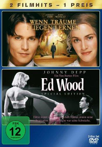 Wenn Träume fliegen lernen / Ed Wood [2 DVDs] -