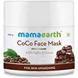 Mamaearth CoCo Face Pack with Coffee and Cocoa For Glowing Skin (100g)
