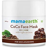 Mamaearth CoCo Face Pack, For Glowing Skin, With Coffee & Cocoa - 100g