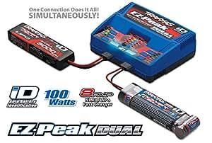 Traxxas - Chargeur Rapide Double Sortie Lipo/Nimh iD 100W Traxxas 2972G
