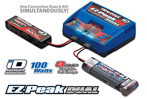 Traxxas Modellbau-Multifunktionsladegerät 230V 4A EZ-Peak Dual NiMH, NiCd, LiPo