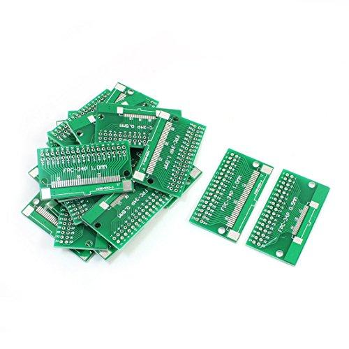20PCS SMD FPC/FFC-34P 0.5mm 1.0mm IC PCB Adapter Konverter 46 x 26mm de de Ic-adapter