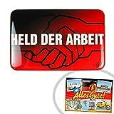 Held der Arbeit Magnet | INKL DDR Geschenkkarte | Ostalgie | Ideal für jedes DDR Geschenkset | Ostprodukte