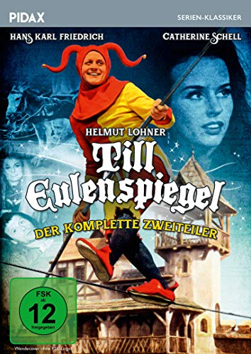 Till Eulenspiegel / Der komplette Zweiteiler mit Helmut Lohner (Pidax Serien-Klassiker) [2 DVDs]