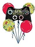 Amscan 3782201 Folienballon Bouquet Epic Party