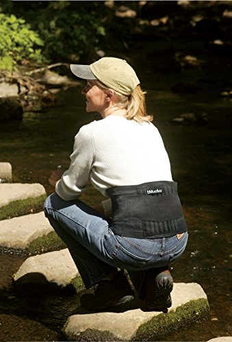 Mueller Rücken-Aktivbandage zur Unterstützung des Lendenwirbelbereiches, Einheitsgrösse, schwarz - 2