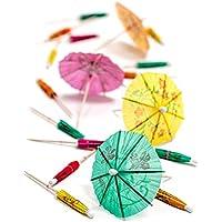 Cocktail Umbrellas - Set of 50 - multiple colors, Cocktail Accessoires