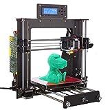 win-tinten 3D Drucker, Wooden (Holz) Prusa I3 Pro W Schreibtisch DIY 3D Drucker Selbstbau-Set Kit 200x200x180 mm Druckraum Cura App Verwenden ABS/PLA 1.75mm
