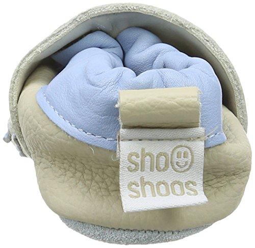 ShooShoos Penguin, Chaussons pour bébé bébé garçon Blanc Cassé - Off White (Cream)