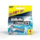 Gillette MACH3 Turbo Systemklingen 4er