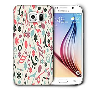 Snoogg Music Strings Printed Protective Phone Back Case Cover For Samsung Galaxy S6 / S IIIIII