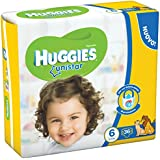 Huggies – Unistar – Couches – Taille 6 (15 – 30 kg) – 2 x 18 couches