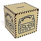 Azeeda Groß 'Aufnahmegerät' Sparbüchse / Spardose (MB00059232)
