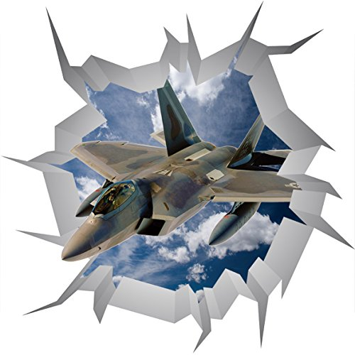 lockheed-martin-f-35lightning-ii-poster-v0023d-mur-crack-sticker-mural-autocollant-3d-art-mural-tail