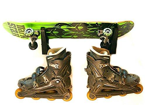 Maxfind P27 Skateboard Wand Rack Wandhalterung Shop für Skateboard Longboard Snowboard (1 Pair)