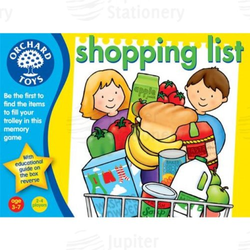 Orchard Toys Shopping List Educational Memory Game age 3-7