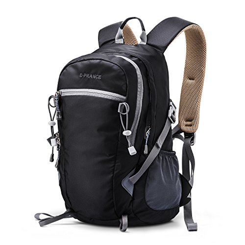 e-prance-25l-nylon-backpack-for-outdoor-hiking-travel-camping-mountaineering-black-shoulder-bag