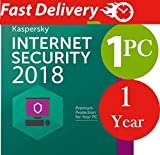 #5: Kaspersky Internet Security 2017 / 2018 For 1 PC / 1 User 1 Year ( Licence Key Only / NO CD)