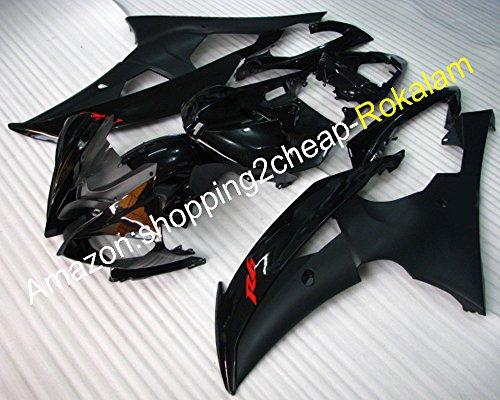 Hochwertige YZFR6 Verkleidungen für Yamaha YZF 600 R6 2008 2009 2010 2011 2012 2013 2014 2015 2016 YZF-R6 Komplettverkleidungs-Set (Spritzguss)