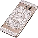 Sannysis for Samsung Galaxy S6 H�lle;Campanula Mandala Floral Dream Catcher-Kasten