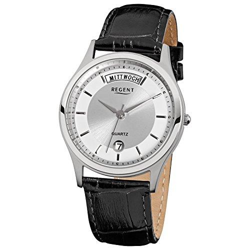 regent-montre-de-bracelet-elegant-analogique-bracelet-en-cuir-noir-a-quartz-cadran-argent-urf354