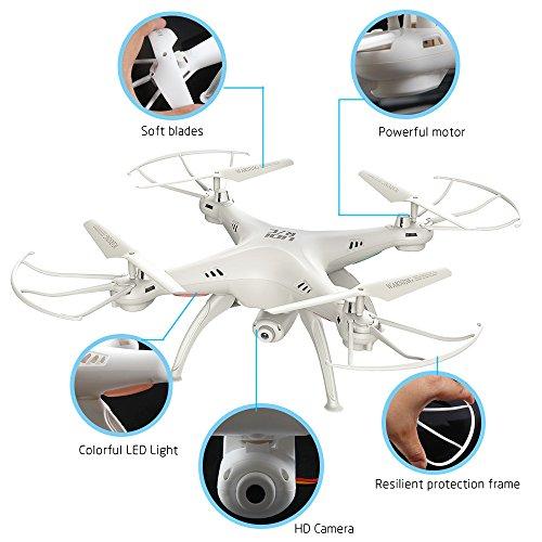 LiDi-RC-L15HW-SYMA-aggiornamento-X5SW-24GHz-6-Axis-Gyro-Wifi-FPV-con-fotocamera-03MP-HD-modalit-RC-Quadcopter-Drone-alta-stiva-con-2-motori-in-pi-molto-facile-da-volare-per-i-principianti