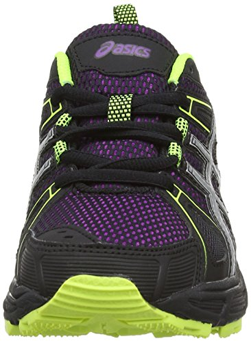 ASICS Gel-Trail-Tambora 4, Damen Outdoor Fitnessschuhe Violett (Purple/Silver/Flash Yellow 3393)