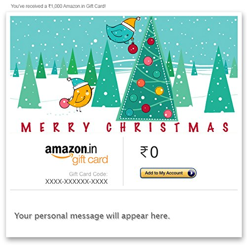 Amazon gift card christmas