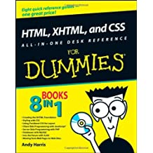 HTML, XHTML, and CSS All-in-one Desk Reference For Dummies by Andy Harris (9-May-2008) Paperback