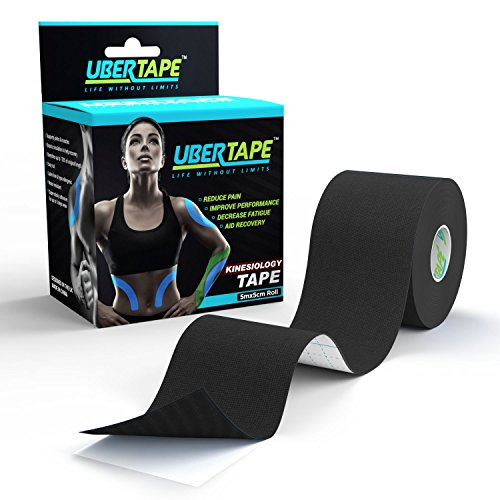 Kinesiology Tape (Super Sticky) - Latex Free and Hypoallergenic for Safety - Durable Material for...