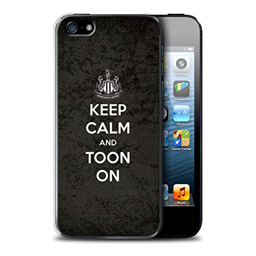 Offiziell Newcastle United FC Hülle / Case für Apple iPhone SE / Pack 7pcs Muster / NUFC Keep Calm Kollektion Toon On