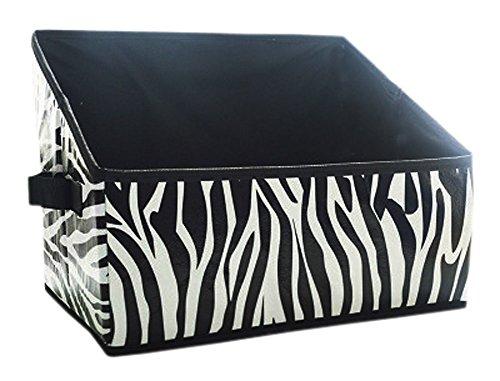 Mehrzweck-faltender Aufbewahrungsbehälter für Büro/Stifthalter/Buchstütze, Zebra (Brief Buchstützen)