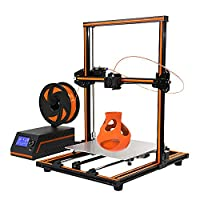 Anet E12 3D Printer DIY 300 x 300 x 400 mm Large Print Size Printing Aluminium Alloy Frame Easy Assembly UK Plug, 3D Printer DIY Kit