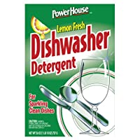 A USA Made Product PowerHouse® Dishwasher Detergent, Lemon Fresh, For Sparkling Clean Dishes 737g (8)