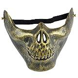 Oyfel Masque Halloween Latex Squelette Clown Diable Dracula Demon Vampire Garcon...